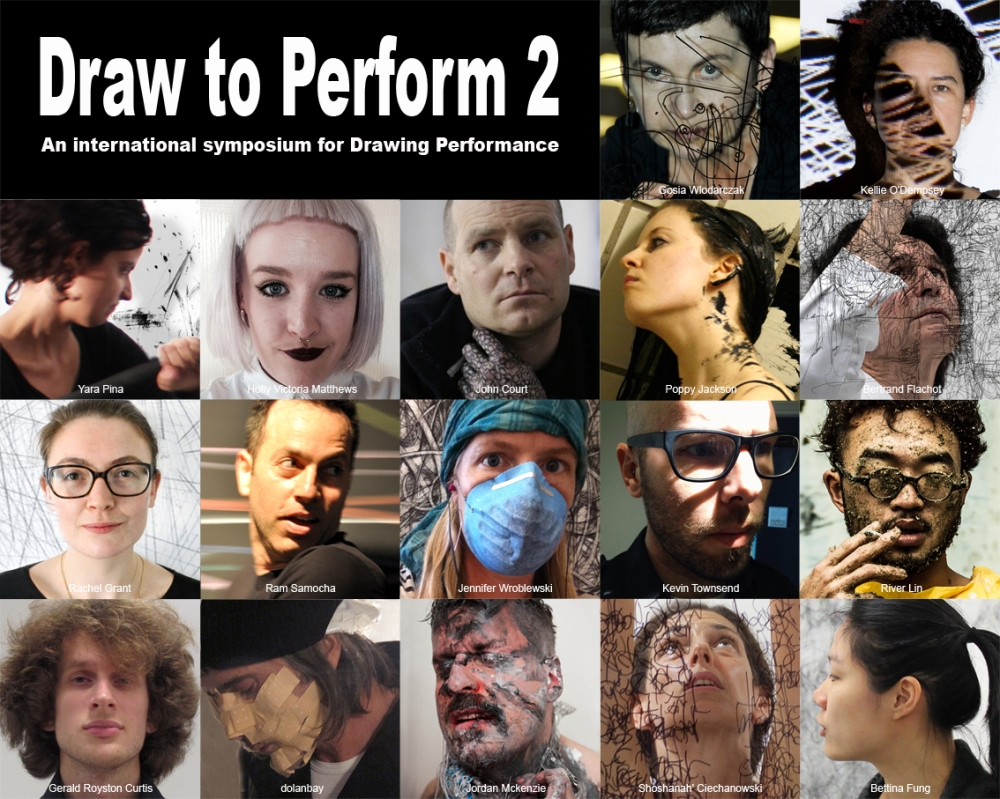 Draw to Perform2_artists collage